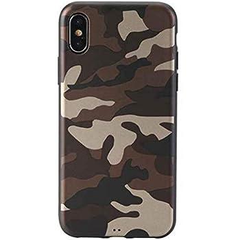 watch 6ecc9 c0b94 Amazon.com: iPhone X & iPhone Xs Case, Camouflage Army Print Case ...