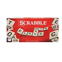 Put letters together, build words, add up your points and win! This classic game features the classic Scrabble equipment for a big-time word-on-word showdown. Do you see a word your opponent hasn't seen. A double or triple letter or word spac...