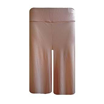 Papaval Ladies Women Plain Soft Palazzo Comfy Shorts Wide Leg Trouser Plus Size 8-122