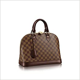 0c43c1fd6695 Amazon.com  Alma Style Damier PM with Strap Elbow Crossbody Shoulder Bag  for Women Perfect to Hold Cash Cards Checkbook Keys Make up Phone etc  Perfect for ...