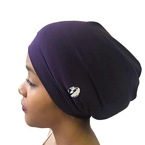 Fairy Black Mother Dreadlocks Locs Cap (Medium, Plum