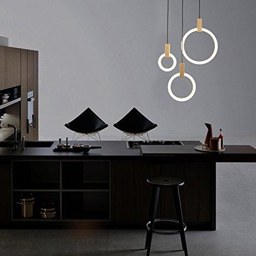 LED Lámpara Colgante de Techo 57W Iluminación Interior Araña ...
