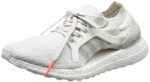 Adidas Kvinna Ultra Boost X Löparskor Skor Vit Pärlgrå Kristall Us5 Vit