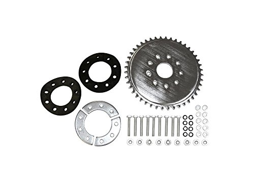 44 Tooth Sprocket with Pineapple Bushing Kit by KingsMotorBikes