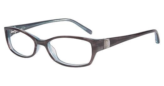 dc8d31a7db0 Amazon.com  JONES NEW YORK Eyeglasses J214 Brown Blue 49MM  Clothing