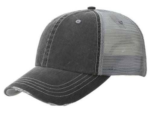 Low Profile Special Cotton Mesh Cap-Black W40S62B