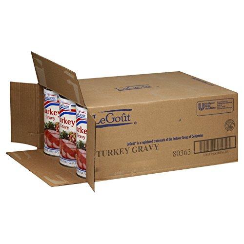 Legout, turkey Heat & Serve Gravy Mix 49 oz. (12 Count) by LeGout