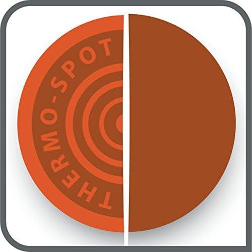 Tefal CB660301 Plancha Colormania Plaque Anti-Adhésive XL 6 à 8 Personnes Cuisson sans Ajout de Matière Grasse Thermo-Spot 2000W Vert