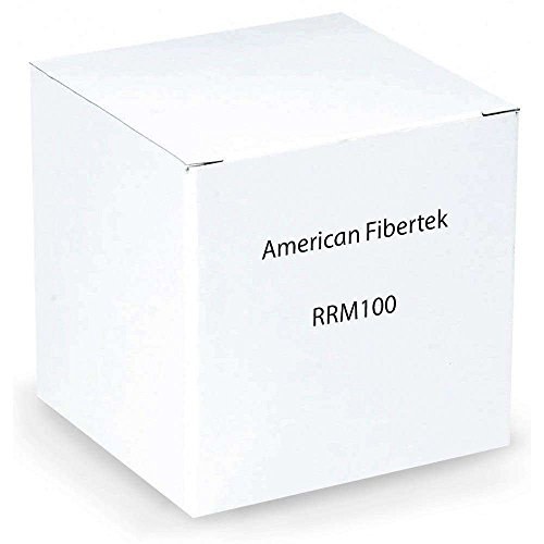 American Fibertek - RRM100 - Fm Video Trans System Color Transparent Rack Card 2.0km - Card Receiver Fm Video Rack