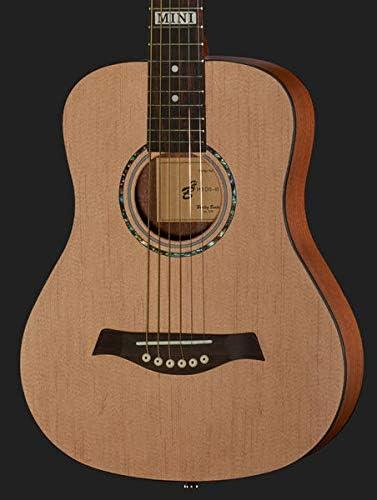 Guitarra acústica para niños de viaje Harley Benton DS-10 Mini ...