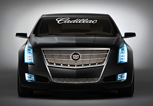 Cadillac CTS Windshield Decal Sticker SUV Scalade Models SRX Window Lettering