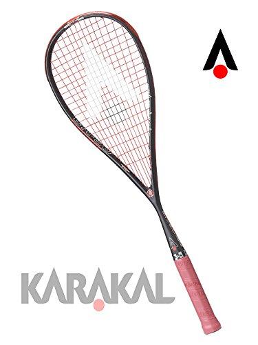 KARAKAL(カラカル) スカッシュラケット SN-90 FF KS 1708 ブラック ブラック B0748H65LJ