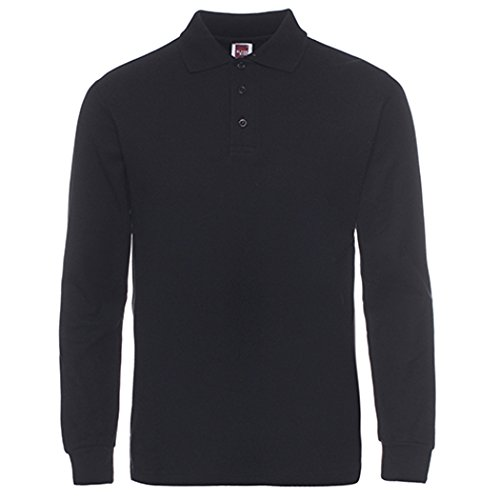 Best Golf Shirt (Men's Long Sleeve Casual Solid Golf Polo Shirt,navy,xl)
