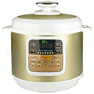 MIDEA BT100-6L Gourmet 7-in-1 Programmable 6L Automatic Electric Pressure Cooker – This pressure cooker is great. Very easy to use
