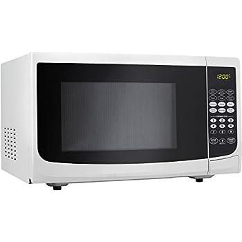 Amazon Com Danby Dmw111kwdb Microwave Oven 1 1 Cu Ft