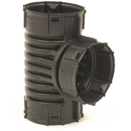 ADVANCED DRAINAGE SYSTEMS 0421AA Snap drain tee, 8 - Pipe Fittings Corrugated
