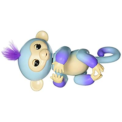 WowWee 3727 Fingerlings 2Tone Monkey Ava Interactive Toy, Large, Multi-Colored: Toys & Games