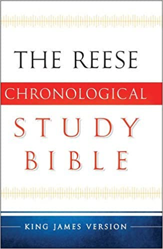 The Reese Chronological Study Bible: King James Version: Edward