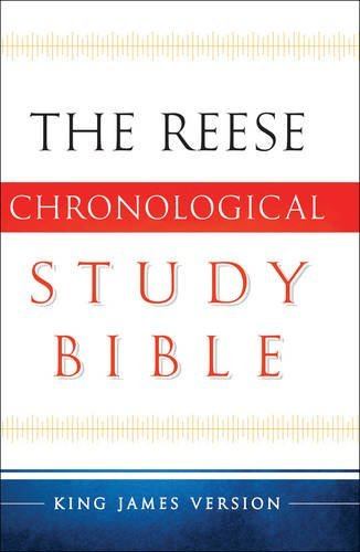 The Reese Chronological Study Bible: King James Version