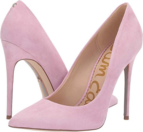 (Sam Edelman Women's Danna Light Pink Orchid Kid Suede Leather 7 W)