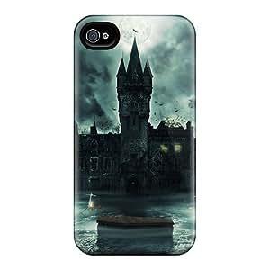 High Quality UQncPzt130WYtiu Dark Castle Tpu Case For Iphone 4/4s