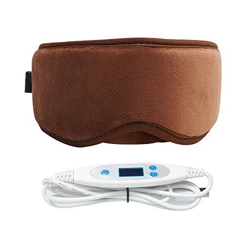ARRIS Electric USB Heated Eye Mask Warm Therapeutic Treatment for Relieving Headache, Eye Stress, Insomnia, Dry Eye, Blepharitis, Meibomian, Styes,Sinus