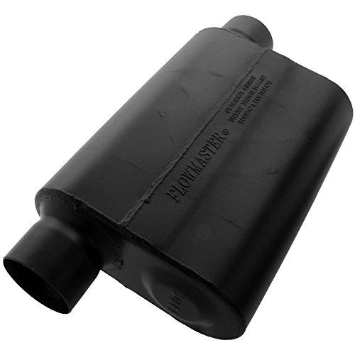 Flowmaster 943049 Super 44 Muffler - 3.00 Offset IN / 3.00 Same Side OUT - Aggressive Sound ()