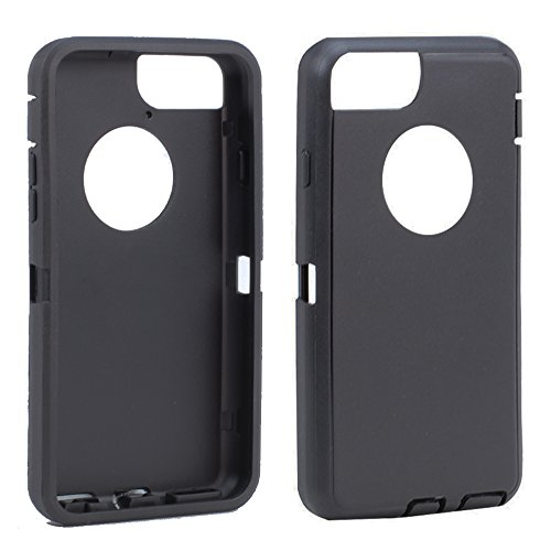 Apple iPhone 6 / iPhone 6s 4.7 inch Replacement Generic Aftermarket TPE Silicone Skin for Otterbox Defender Series Case Cover For Apple iPhone 6 4.7 inch - Black Outer Skin Only (Iphone Rubber Skin)