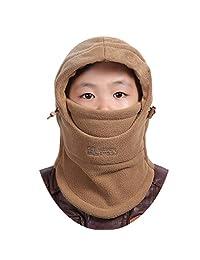 Xianheng Children Face Cover Hat Balaclava Mask Girls Boys Winter Warm #16