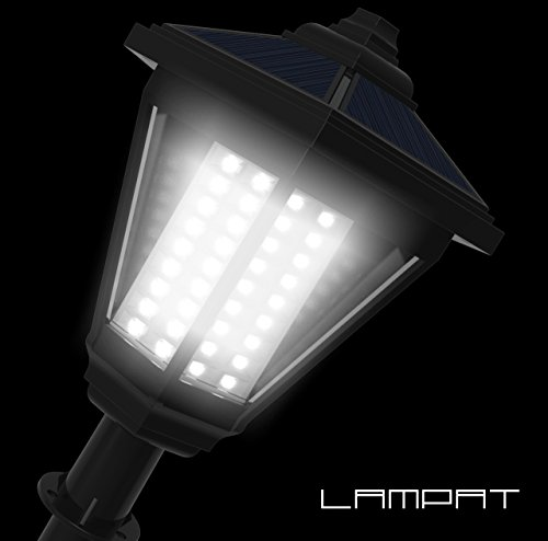 Lampat Solar Lights 108 Led Decorative Columns Post
