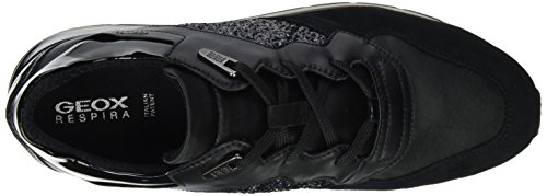 Shahira Negro B Black Zapatillas Geox Mujer D para qxHOCFwR5