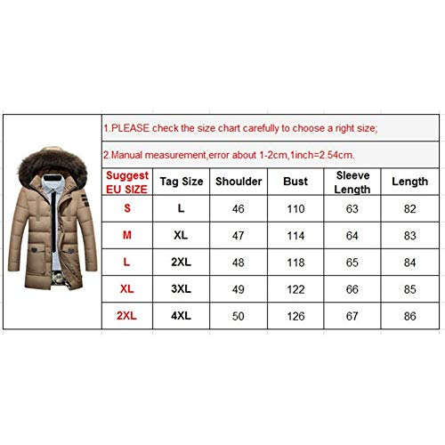 Clásico Down Coat Laisla Long Hooded Coats Parka fashion Schwarz Coat Long Winter Hoodie Sleeve Warm Men's Boy Jacket Coat Winter Jacket qztvz