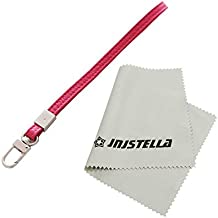 Leather Hand Wrist Strap Lanyard for Cell Phone Camera ipod mp3 mp4 USB Flash Drive ID Badge holder Key (Pink)