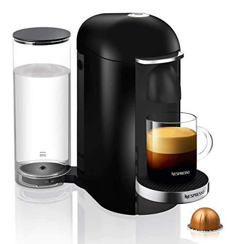 (Nespresso VertuoPlus Deluxe Coffee and Espresso Machine, Black)