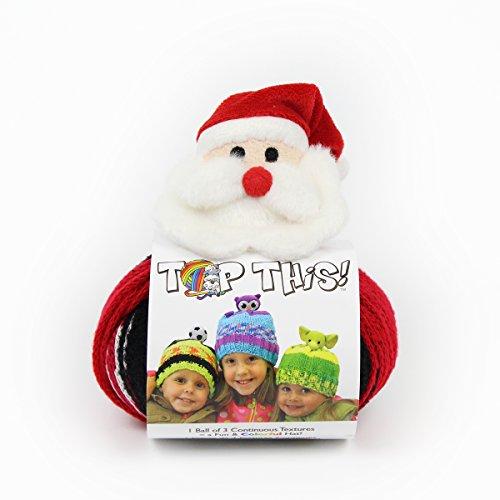 DMC Top This! Yarn, Santa