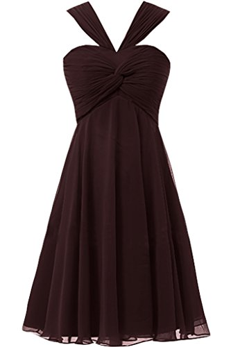Missdressy - Robe - Femme -  marron - 34