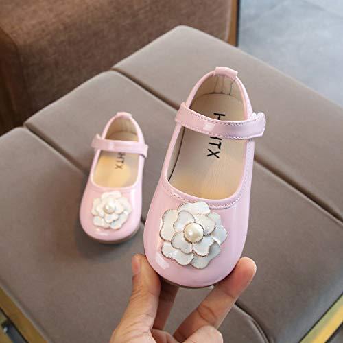 6d7062c51 Princesa Primeros Recorte Arco Zarlle De Pequeños Patrón Zapatillas Deporte  Para 3 Bebé Cuero Recién Zapato Pasos Patucos Nacido Rosado Niñas Zapatos  ...