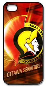 LZHCASE Personalized Protective Case for iPhone 5 - NHL Ottawa Senators