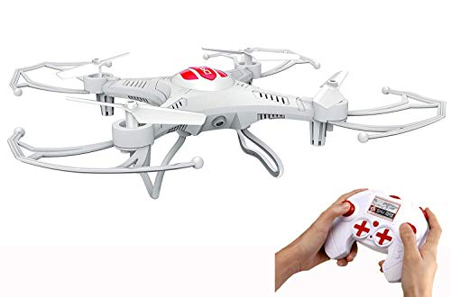 Tony Friends Toys Mini 3.7v 250mAh RC Quadcopter Drone - Drones Kids, Teens Adults - Battery Operated Remote Controlled Flying Small Drone Propellers - Perfect Drone Beginners