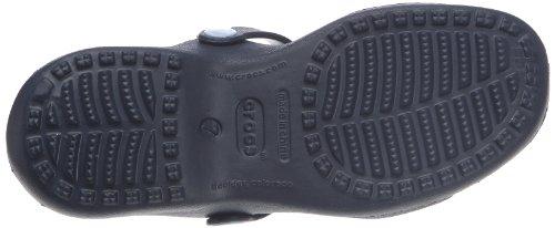 Crocs Crocs Dames Leo Iii Glisser Sur Croslite Deux Couleurs Glisser Sandale Marine Marine Croslite Uk Taille 3 (eu 35, Us 5)