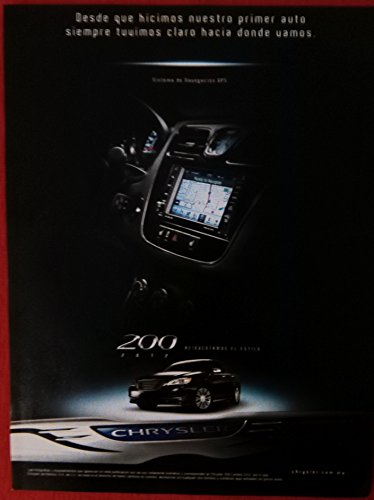 2012 CHRYSLER 200 SEDAN 4-Puertas