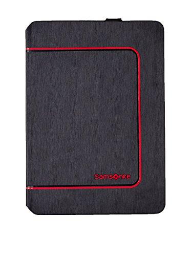 Samsonite Custodia Tablet 10.1 Tabzone Antracite/Rosso Unica