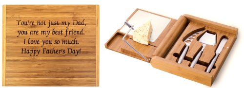 (Soiree Cheese Board Set - You Are My Best Friend - Father's Day Gift)