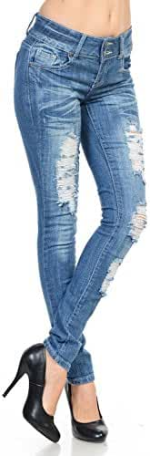 Sweet Look Premium Edition Women's Jeans - High Waist - Style N426H