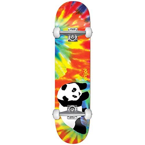 Enjoi HG 10517607 Tie Dye Tie Dye Complete Skateboard, Tie Dye, Size 7.75FU
