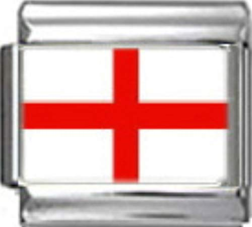 - Stylysh Charms England English UK Flag Photo Italian 9mm Charm PC054 Fits Nomination Classic