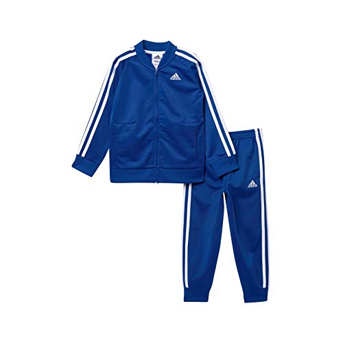 PHIBEE Boys 2 Piece Zip Up Tricot Track Jacket and Pant Set