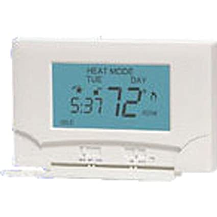 LuxPRO PSP711TS Touch Screen 7-Day Deluxe Programmable Thermostat by LuxPRO