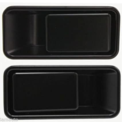 Metal Door Handles Outside Exterior Front LH /& RH Pair Set for Jeep Wrangler