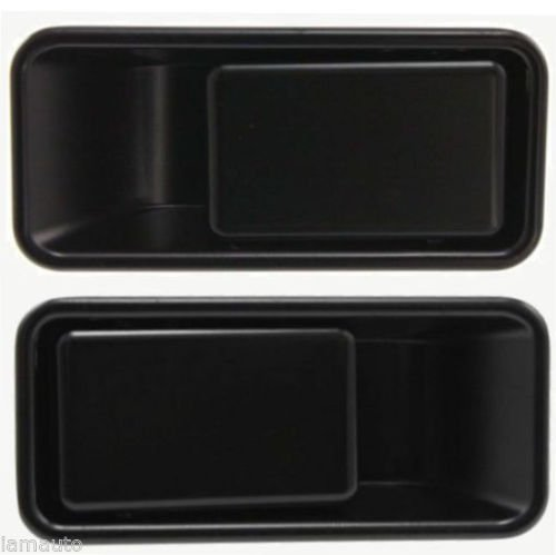Half Door Outside / Outer Metal Door Handles PAIR LH & RH for 1991-2006 Jeep Wrangler YJ TJ